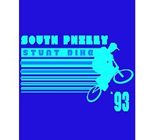 South Philly Stunt Bike Photographic Print