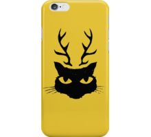 deer cat iPhone Case/Skin