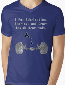 Fun with rear ends. Mens V-Neck T-Shirt
