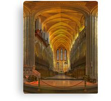 Truro Cathedral Quire and Altar Canvas Print