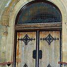 Plymouth Church Door by Littlehalfwings