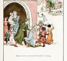 The Pied Piper of Hamlin Robert Browning art Kate Greenaway 0036 Like Fowls With Barley by wetdryvac