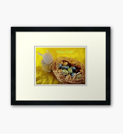 Happy Easter!!! :-) Framed Print