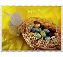 Happy Easter!!! :-) Photographic Print