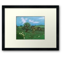 Simple Countryside Framed Print