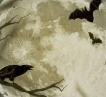 Halloween Scene Sticker