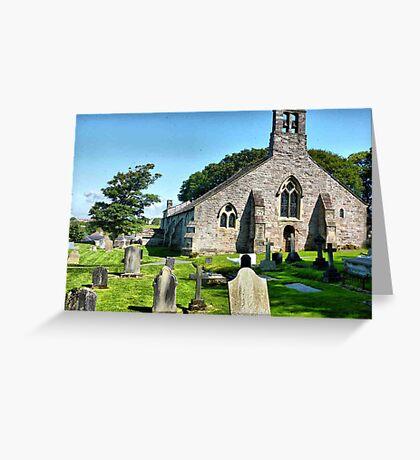 St Peters Heysham . Greeting Card