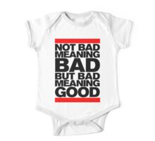 Bad Meaning Good One Piece - Short Sleeve