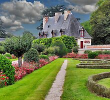Chenonceau Castle 4 by Adri  Padmos