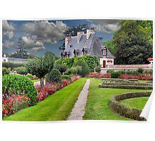 Chenonceau Castle 4 Poster