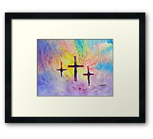 One time sacrifice, eternal benefit......... Framed Print