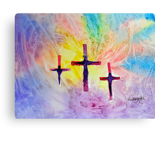 One time sacrifice, eternal benefit......... Canvas Print