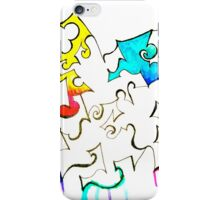 Ink and color iPhone Case/Skin