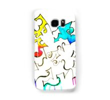 Ink and color Samsung Galaxy Case/Skin