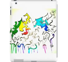 Ink and color iPad Case/Skin
