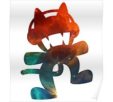 Monstercat Galaxy Logo Poster