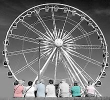 Watching the wheel by Rob Hawkins