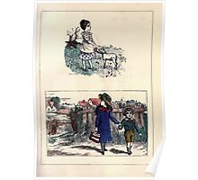 The Little Folks Painting book by George Weatherly and Kate Greenaway 0079 Poster