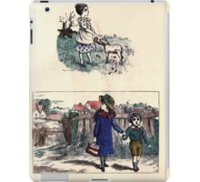 The Little Folks Painting book by George Weatherly and Kate Greenaway 0079 iPad Case/Skin