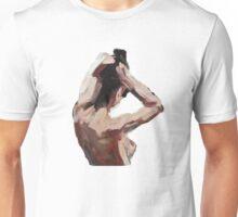 Woman painting - transparent Unisex T-Shirt