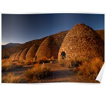 Wildrose Charcoal Kilns. Poster