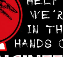 Hands of Engineers Sticker