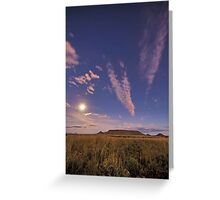 Tafelkop Moonlight Greeting Card