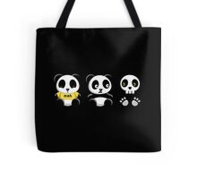 Little Pandas in the Dark Tote Bag