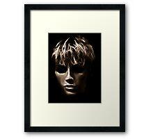 Face and outside Grace Framed Print