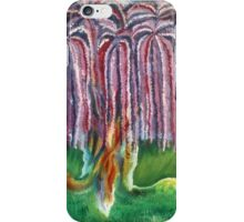 Rainbow Willow iPhone Case/Skin