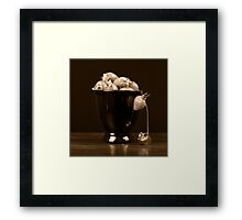 Stolen Fruit Framed Print