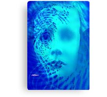 Shattered Doll Canvas Print