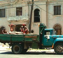 Cuban Truck by IngridSonja