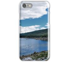 Medicine Lake, Alberta, Canada iPhone Case/Skin