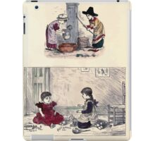 The Little Folks Painting book by George Weatherly and Kate Greenaway 0139 iPad Case/Skin
