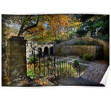 Sunken Garden Poster