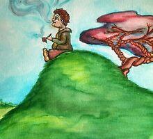 Hobbit Smoking Old Toby by sheyman