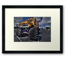 The Kool Bus Framed Print