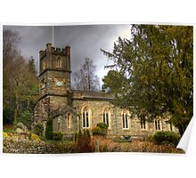 St Mary's Church, Rydal Poster