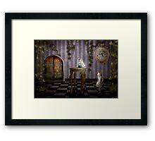 Drink me? Framed Print
