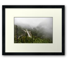 Driving in a Fog Framed Print