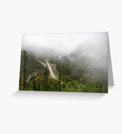 Driving in a Fog Greeting Card