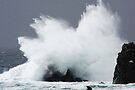 Rough sea at the Lizard by SWEEPER