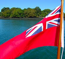 Red Ensign by diamondphoto