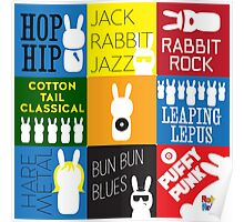 LP the Bunny Albums Poster