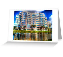 Office Reflections Greeting Card