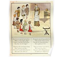 The Glad Year Round for Boys and Girls by Almira George Plympton and Kate Greenaway 1882 0059 Cynthy Ann Poster