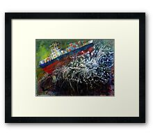 Cargo Gone Tropo Framed Print