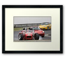 OOPS  -  COOKED IT  -  CLUBMAN  X7  Framed Print