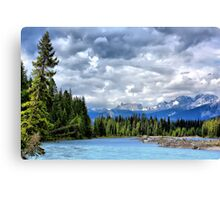 Kootenay National Park Scenery, BC, Canada Canvas Print